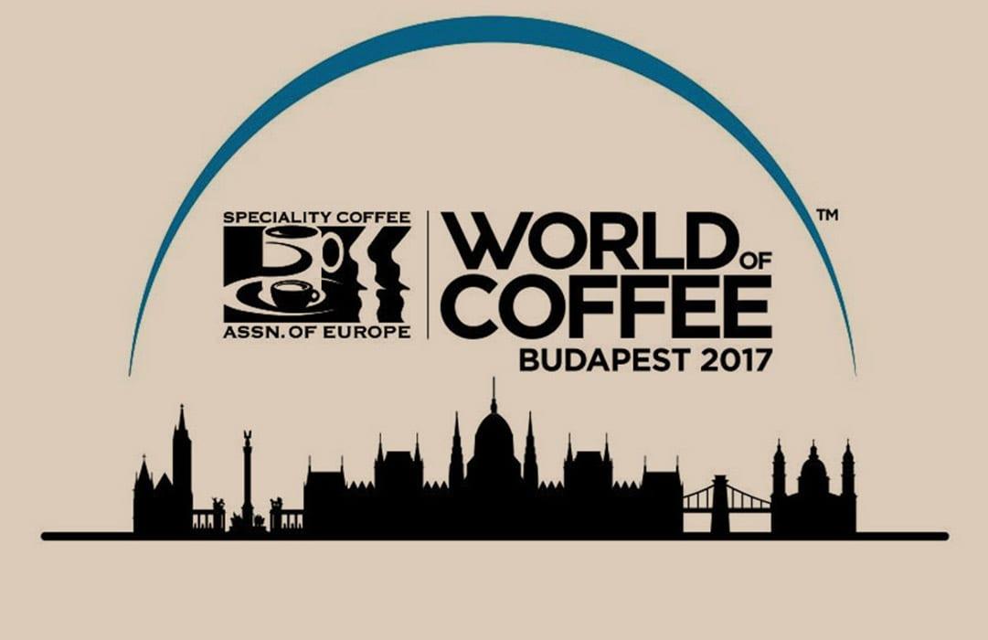 לוגו תערוכת קפה בודפשט 2017