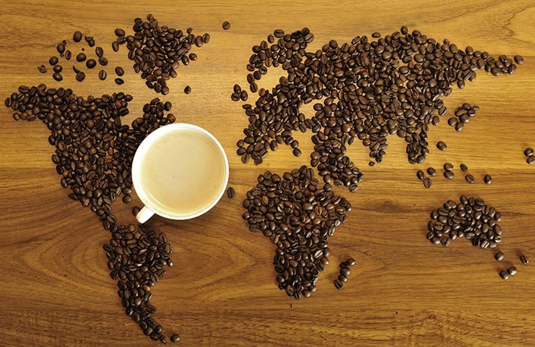 מפת פולי קפה - סינגל אוריג'ין