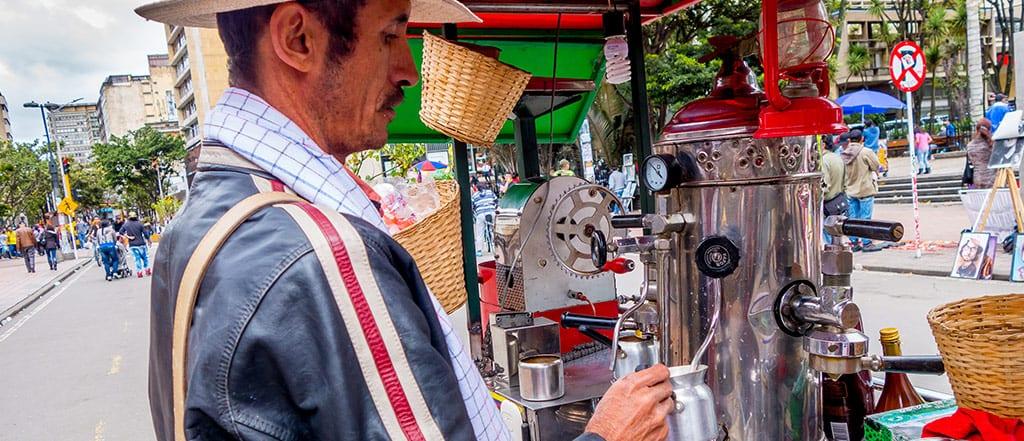 קולומביה מכונת קפה