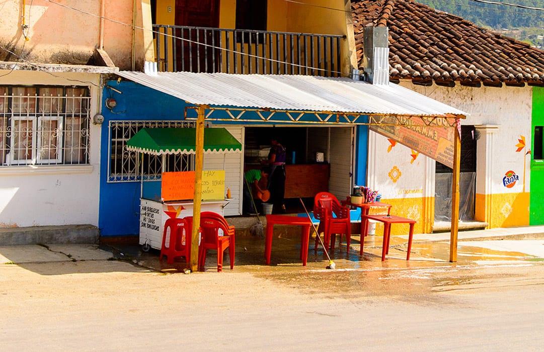 הונדורס בית קפה ברחוב