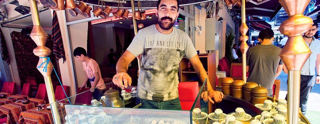 טורקיה דוכן קפה