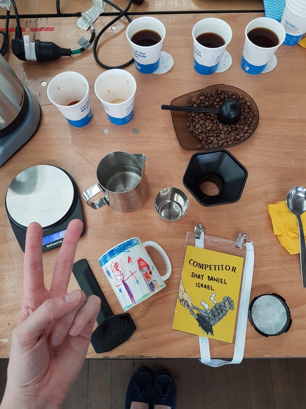 תהליך הכנת קפה