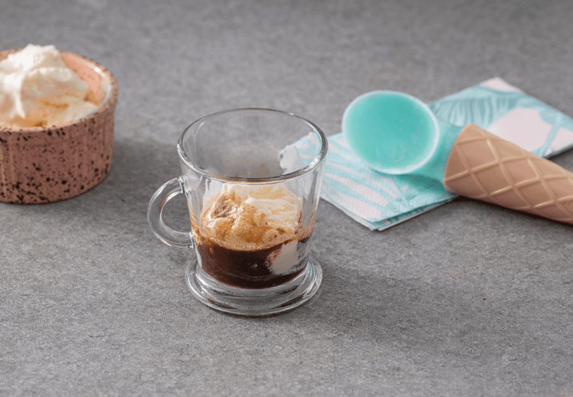 אפוגאטו עם קפה אספרסו משובח
